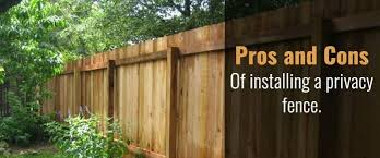 The Pros And Cons Of Installing A Privacy Fence In Your Yard O Neill Landscape Group