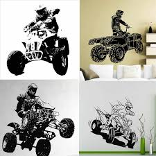 29 Designs Quad Bike Atv Racing Rider Extreme Sports Wall Decal 4 Wheeler Off Road Vinyl Sticker Art Decor Home Mural Boys Room Decoration Homevinyl Stickers Aliexpress