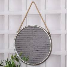 rustic industrial rope wall hanging