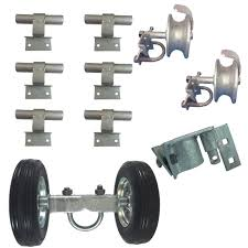 6 Chain Link Wall Mounted Rolling Gate Buy Online In Canada At Desertcart