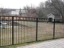 Ez Fence Columbia 60 X 70 3 Rail Aluminum Fence Panel At Menards Aluminum Fence Fence Panels Fence