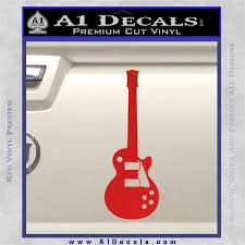 Gibson Les Paul Style Guitar Decal Sticker Vzl A1 Decals