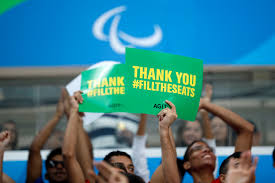 FilltheSeats online campaign helps create historic atmosphere at the  Paralympics | International Paralympic Committee