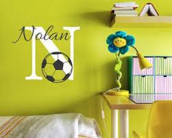 Soccer Wall Decals Vinyl Football Wall Art Stickers