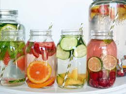 spa fruit infused detox water modern