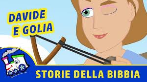 DAVIDE e GOLIA | Storie della Bibbia per bambini