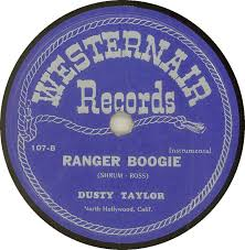 78 RPM - Dusty Taylor - You're The Answer To My Prayer / Ranger Boogie -  Westernair - USA - 107