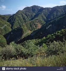 Calabria - Aspromonte National Park. Landscape of San Luca and Stock Photo  - Alamy