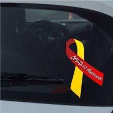 Awareness Ribbon Decals