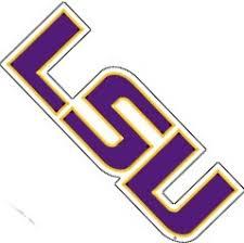 Lsu Tigers Die Cut Purple Gold Team Wordmark Logo Vinyl Decal