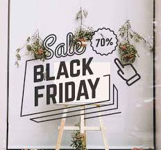 Black Friday Sale Pointer Window Sticker Tenstickers