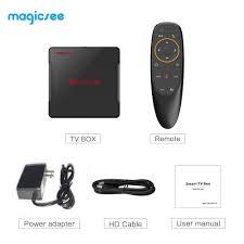 Magicsee N5 Nova Rk3318 Smart Tv Box Android 9.0 4gb 32gb 64gb Media Player  4k Google Voice Assistant Netflix Youtube 2gb16gb - Buy Magicsee N5 Nova,Rk3318  Smart Tv Box,4gb 32gb Tv Box