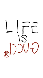 gucci life is gucci tee shirt