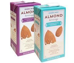 whole30 pliant almond milk brands