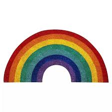 Nordic Style Rainbow Rug Absorbent Non Slip Carpet Floor Mat For Home Living Room Kids Room Decor Lemon Door Mat Drop Shipping Carpet Aliexpress