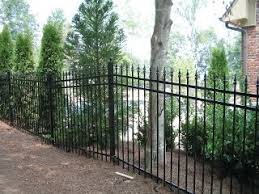 Residential Metal Fence Central Fence