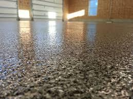 decorative flake garage floor