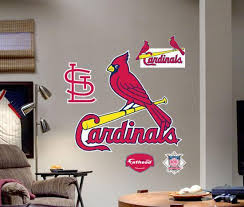 St Louis Cardinals Logo Fathead Wall Decal Allposters Com