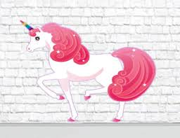 Second Life Marketplace Cute Unicorn Wall Decal