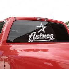 Houston Astros 18 X 18 White Logo Decal Houston Astros Fan Stuff