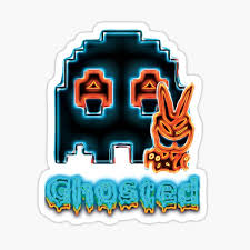 Pacman Ghost Stickers Redbubble