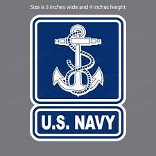 U S Navy Veteran With Anchors Vinyl Decal Sticker Ushirika Coop