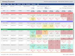 employee schedule creator calendar