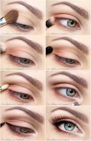 light eye makeup tutorial for beginners
