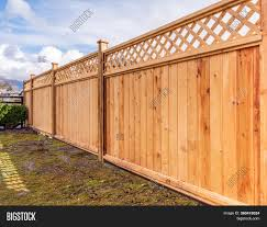 Fence Built Wood Image Photo Free Trial Bigstock