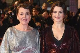 """The Favourite's Rachel Weisz on kissing Olivia Colman: """"She is just  gorgeous and lovely"""""""