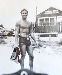 Snowbird - A young Ted Johnson at the beach in Santa Cruz. | Facebook