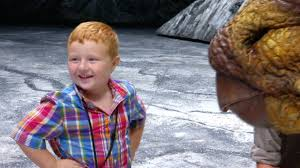 """Yeah, I've seen a lot of Dinosaur movies in my day."""" – Noah Noah Ritter,  the """"apparently"""" funny and cute five-…   Walking with dinosaurs, Cute kids,  Dinosaur movie"""