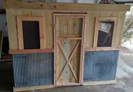 The Recycled Chicken Coop Pallet Project Old World Garden Farms