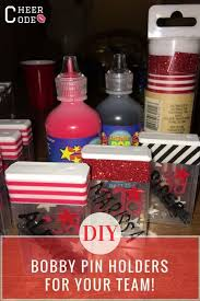 diy bobby pin holders for your team