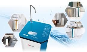 Ưu việt máy lọc nước ion kiềm Daikiosan, Makano dùng công nghệ điện phân nước  RO