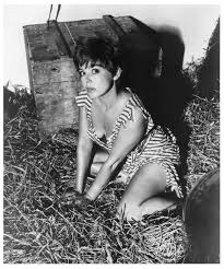 Janet Munro about to roll in the hay | 24 Femmes Per Second
