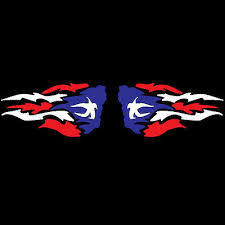 Collectibles Puerto Rico Car Decal Sticker Wings With Puerto Rican Flag 44 Decals Stickers Automobilia Decals Stickers