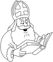 Kleurplaten Sinterklaas Staf Kleurplaat