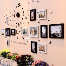 Modern Wall Decals Photo Frame Living Room Home Decorative