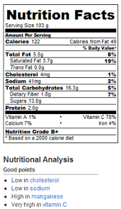 chocolate fondue calories and nutrition