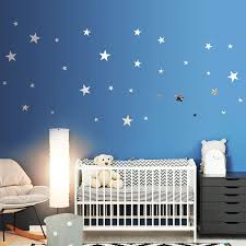 32 Pieces Removable Star Mirror Stickers Acrylic Mirror Setting Wall Sticker Decal For Home Living Room Bedroom Decor Silver Amazon Com