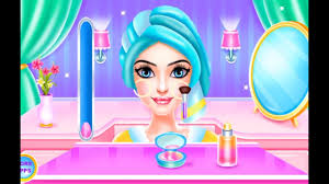 colorful fashion hair salon games for