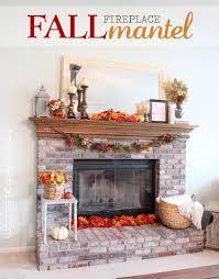 diy fall mantel decoration ideas