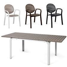 nardi alloro 9 piece extendable table