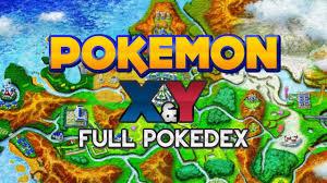 Pokémon X and Y - Kalos Region Pokédex - YouTube