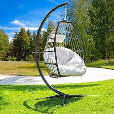 luxury wicker hanging chair swing chair
