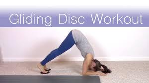 gliding disc workout so much fun