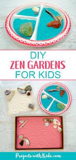 diy zen gardens for kids projects