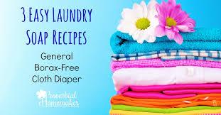 easy laundry soap recipes proverbial
