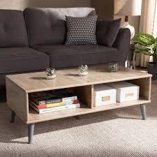light grey wood coffee table pierre